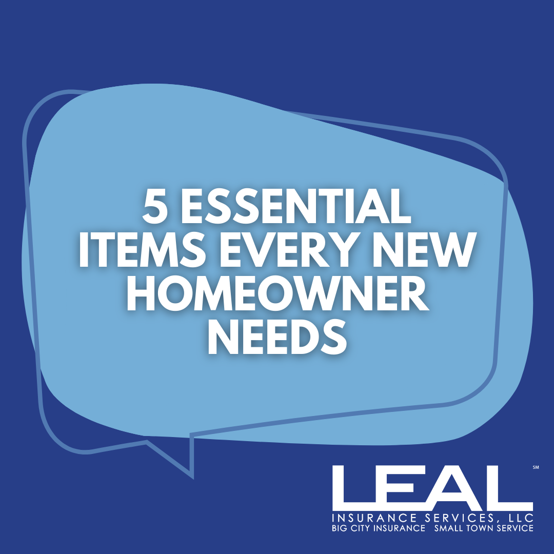 5 Essential items every new homeowner needs