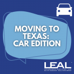 moving to texas: car edition